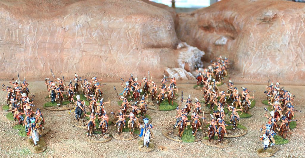 Indian war band ( x 82 figs)