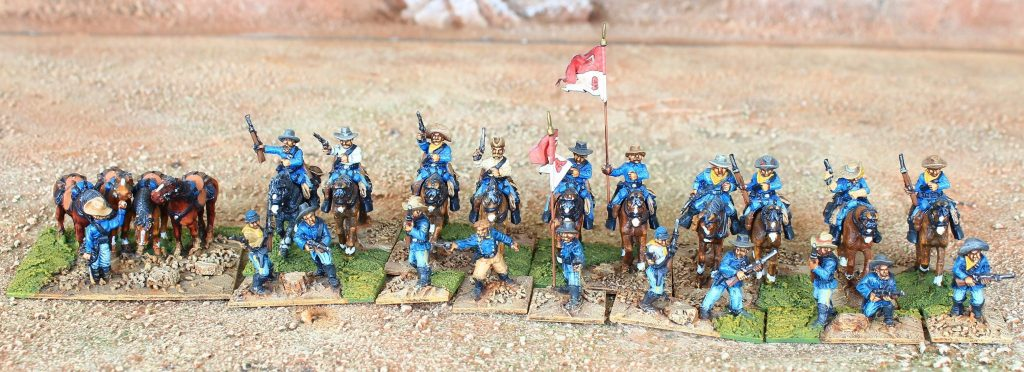 US Cavalry 10 Mtd & Dismtd & Horseholder